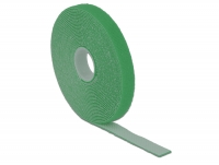 Delock Hook-and-loop fasteners L 5 m x W 13 mm roll green
