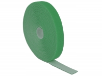 Delock Hook-and-loop fasteners L 10 m x W 20 mm roll green