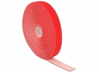 Delock Hook-and-loop fasteners L 10 m x W 20 mm roll red