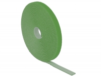 Delock Hook-and-loop fasteners L 10 m x W 13 mm roll green