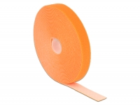 Delock Hook-and-loop fasteners L 10 m x W 20 mm roll orange