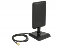 Delock LTE Antenna SMA plug 2 - 4 dBi omnidirectional with magnetic base and connection cable (ULA 100, 1 m) black