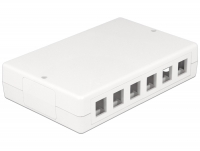 Delock Keystone Surface Mounted Box 12 Port
