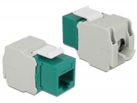 Delock Keystone Module RJ45 jack > LSA Cat.6 UTP green