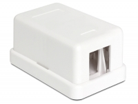 Delock Keystone Surface Mounted Box 1 Port