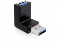 Delock Adapter USB 3.0 male-female angled 270° vertical