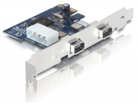 Delock PCI Express Card > FireWire A 2 Port (IEEE 1394a)