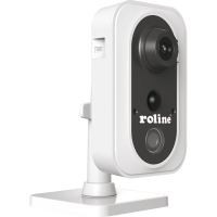 ROLINE 3 MPx Cube IP Camera, RCIF3-1W, IR-LED, PoE, 4mm fix 70°, WLAN