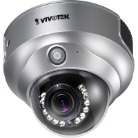 VIVOTEK FD8161, Day/Night Fixed Dome Network Camera with 2 Megapixel, IR-LED,