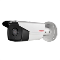 ROLINE 5 MPx Fix Bullet IP Camera, RBOF5-1, IR-LED, PoE, 4mm fix, IP66 for
