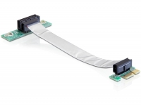Delock Riser card PCI Express x1 with flexible cable left insertion
