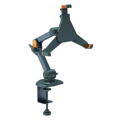 VALUE Holder for iPad/Ebook/Tablet, Clamp Type, 4 Joints