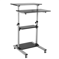ROLINE PC Standing Workstation, black / gray