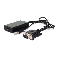 VALUE Cableadapter, VGA+Audio - HDMI, M/F, 0.15 m