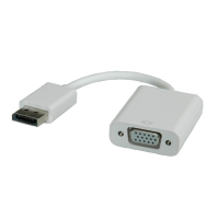 ROLINE DisplayPort-VGA Adapter, v1.2, DP M - VGA F