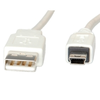Secomp USB 2.0 Cable, Type A - 5-Pin Mini, 1.8 m