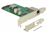 Delock PCI Express Card > 1 Gigabit LAN PoE+ RJ45