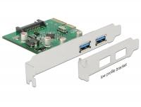Delock PCI Express x4 Card > 2 x external USB 3.1 Gen 2 Type-A female