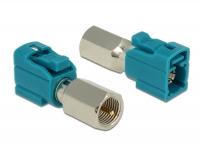 Delock Adapter FAKRA Z Jack > FME Plug
