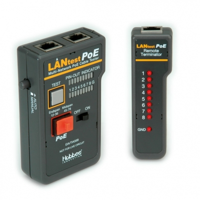 HOBBES LANtest Multinetwork PoE Cable Tester - DCP SIA