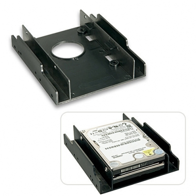 """Lindy Installation frame fortwo 2.5"""" hard drives in one 3.5"""" slot"""