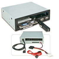 "Lindy 5.25"" Slim ODD, 2.5"" HDD & USB Backplane for 5.25"" Bay"