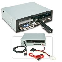 "Lindy 5.25"" Slim ODD, 2.5"" HDD & USB Backplane for 5.25"" Bay"