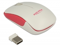 Delock Optical 3-button mini mouse 2.4 GHz wireless