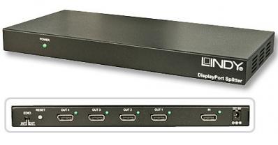 Lindy DisplayPort Splitter 1:4