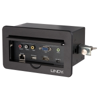Lindy Conference Table Box AV-HDMI Presentation Switch - In-Desk Version