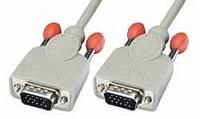 Lindy VGA Cable - Standard VGA Monitor Cable (15HDM/15HDM), 2m