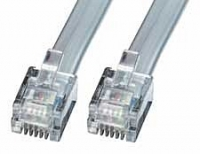 Lindy 6 Way RJ-12 Cable, 50m