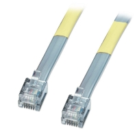 Lindy 6 Way RJ-12 Cable, 15m