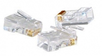 Lindy RJ-45 Male Connector, 8 Pin UTP CAT5e, Pack of 10