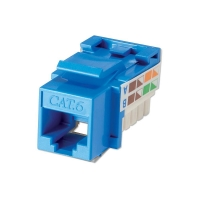 Lindy CAT6 Punchdown Keystone, Blue