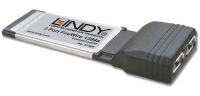 Lindy ExpressCard FireWire 1394a Karte, 2 Port