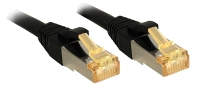Lindy RJ45 Patch Cable Cat.7 S/FTP LSOH, black, 10m