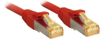 Lindy RJ45 Patch Cable Cat.7 S/FTP LSOH, red, 0.3m