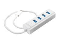 Lindy USB 3.1 Type C Notebook Hub 4 Port