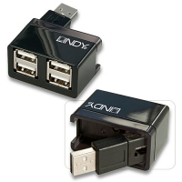 Lindy USB 2.0 Notebook Hub 4 Port
