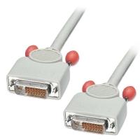 Lindy DVI-D Cable, Dual Link, Premium, 0.5m