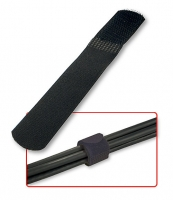 Lindy Hook & Loop Cable Ties, 10 pcs., black