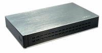 "Lindy USB 2.0 Drive Enclosure for 2.5"" SATA Drives , Aluminium, One Touch Backup"