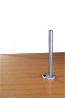 Lindy 450mm Desk Grommet Clamp Pole