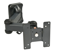 Lindy LCD Multi Joint Wall Bracket, Black