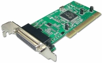 Lindy 2 Port Serial & 1 Port Parallel Low Profile Card, PCI