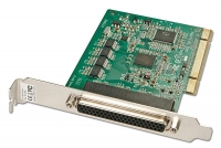 Lindy 8 Port Serial RS-232, 16C950, 128 Byte FIFO PCI Card, Std Profile