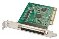 Lindy 8 Port Serial RS-232, 16C950, 128 Byte FIFO PCI Card, Std Profile