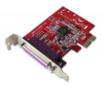 Lindy 1 Port Low Profile Parallel Card, PCIe