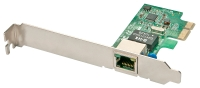 Lindy Gigabit Ethernet 10/100/1000 Card, PCI Express
